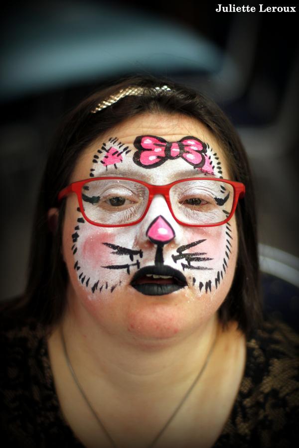 Maquillage Halloween Hello Kitty.Juliette Leroux Maquilleuse Professionnelle En Facepainting
